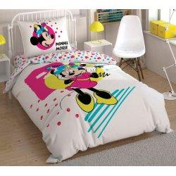 Детское постельное белье TAC Disney Minnie Colour Mayhem