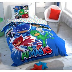 Детское постельное белье TAC PJ Masks Hero люминосцентное