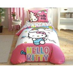 Детское постельное белье TAC Disney Hello Kitty Rainbow