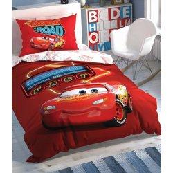 Детское постельное белье TAC Disney Cars Shiny Road
