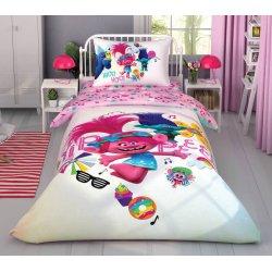 Детское постельное белье Tac Trolls color party