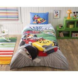 Детское постельное белье TAC Disney Mickey Raсer