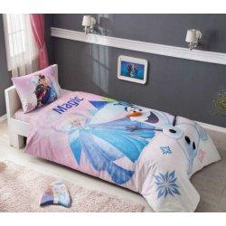 Детское постельное белье Frozen Pink