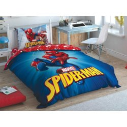 Детское постельное белье TAC Disney Spiderman Time to Move