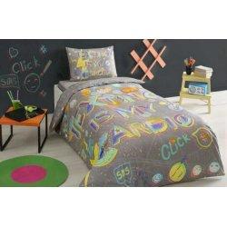 Детское постельное белье TAC Click gri полуторное