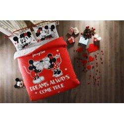 Детское постельное белье TAC Disney Minnie Mickey Dreams Glow