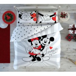 Постельное белье евро Tac Disney Mickey & Minnie Love Day
