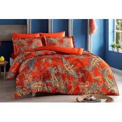 Постельное белье Tac сатин Digital Marisol oranj