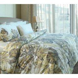 Элитное постельное бельё Valeron USC Savannah V01 Sari сатин евро