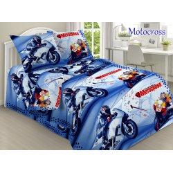 Детское постельное бельё Motocross TAG