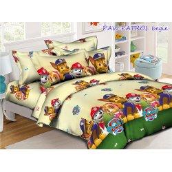 Детское постельное белье Tag Paw Patrol begie
