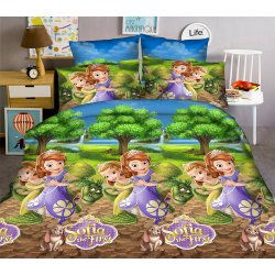 Детское постельное белье TAG Disney Sofia new
