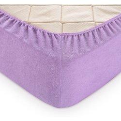 Простынь на резинке махровая TAG 180x200 Lavender Frost
