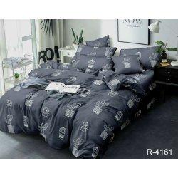Комплект постельного белья ранфорс TAG R4161 серый