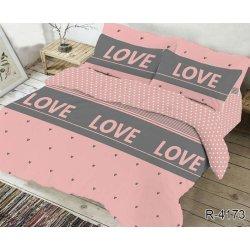 Комплект постельного белья ранфорс TAG R4173 розовый