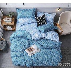 Комплект постельного белья ранфорс TAG R9905 голубой