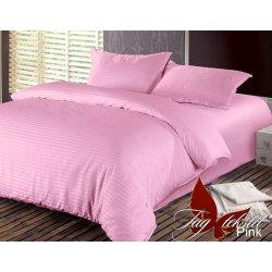 Постельное бельё сатин-страйп Pink