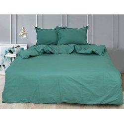 Однотонное постельное белье TAG сатин Green