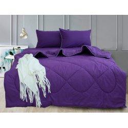 Набор постельного белья с летним одеялом TAG Elegant Sunset Purple