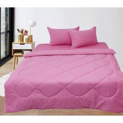 Набор постельного белья с летним одеялом TAG Elegant Pink
