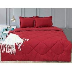 Набор постельного белья с летним одеялом TAG Bordo