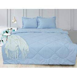 Набор постельного белья с летним одеялом TAG Light Blue