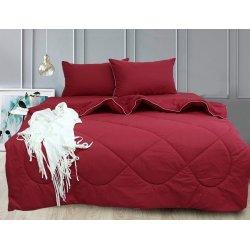 Набор постельного белья с летним одеялом TAG garnet