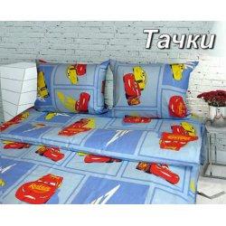 Детское постельное белье Тиротекс Дисней Тачки бязь