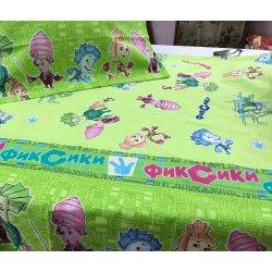Детский комплект Тиротекс Фиксики на салатовом