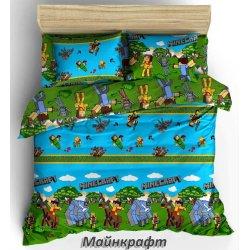 Детское постельное белье Тиротекс Майнкрафт 2 бязь