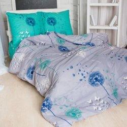 Постельное белье Тиротекс бязь Одуванчик с бабочкой
