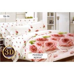 Постельное белье Тиротекс бязь Розовый жемчуг