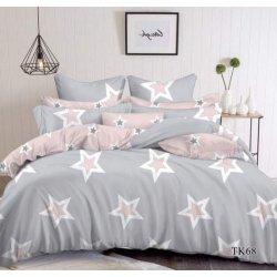 Постельное белье Tirotex Stars серое