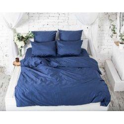 Постельное белье сатин евро Forever blue