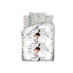 Детское постельное белье Агнес с единорогом