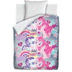 Светящееся детское постельное белье Подружки пони Neon