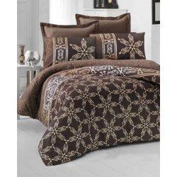 Комплект постельного белья евро Alisa коричневый