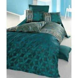 Комплект постельного белья евро Alisa зелёный