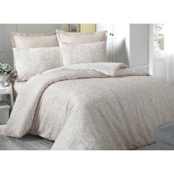 Комплект постельного белья евро Cream