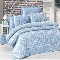 Комплект постельного белья евро Verano голубой