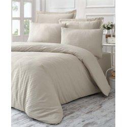 Комплект постельного белья евро Line бежевый