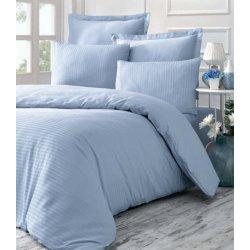 Комплект постельного белья евро Line голубой
