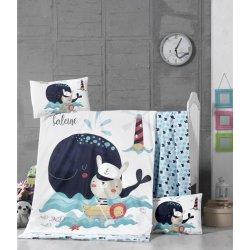Детское постельное бельё в кроватку для новорожденных Victoria Fisher ранфорс