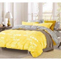 Комплект постельного белья Вилюта 17148 Yellow ранфорс