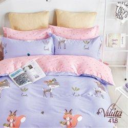 Детское постельное белье Вилюта сатин 418 в кроватку