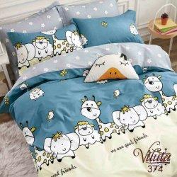 Детское постельное белье Viluta сатин 374 в кроватку