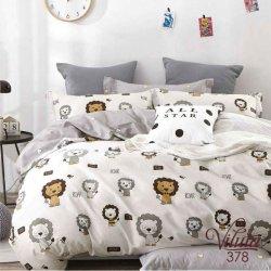 Детское постельное белье Viluta 378 в кроватку сатин