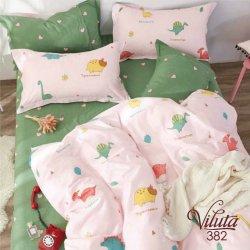 Детское постельное белье Viluta 382 в кроватку сатин