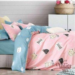 Детское постельное белье Viluta 383 в кроватку сатин