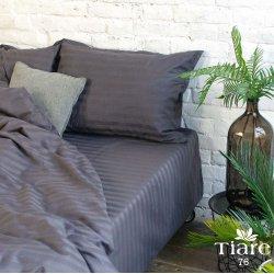 Постельное белье Вилюта сатин страйп Tiare 76 графит